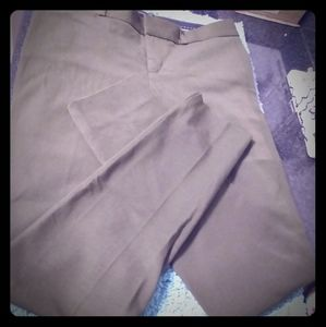 Banana Republic olive Sloan pants